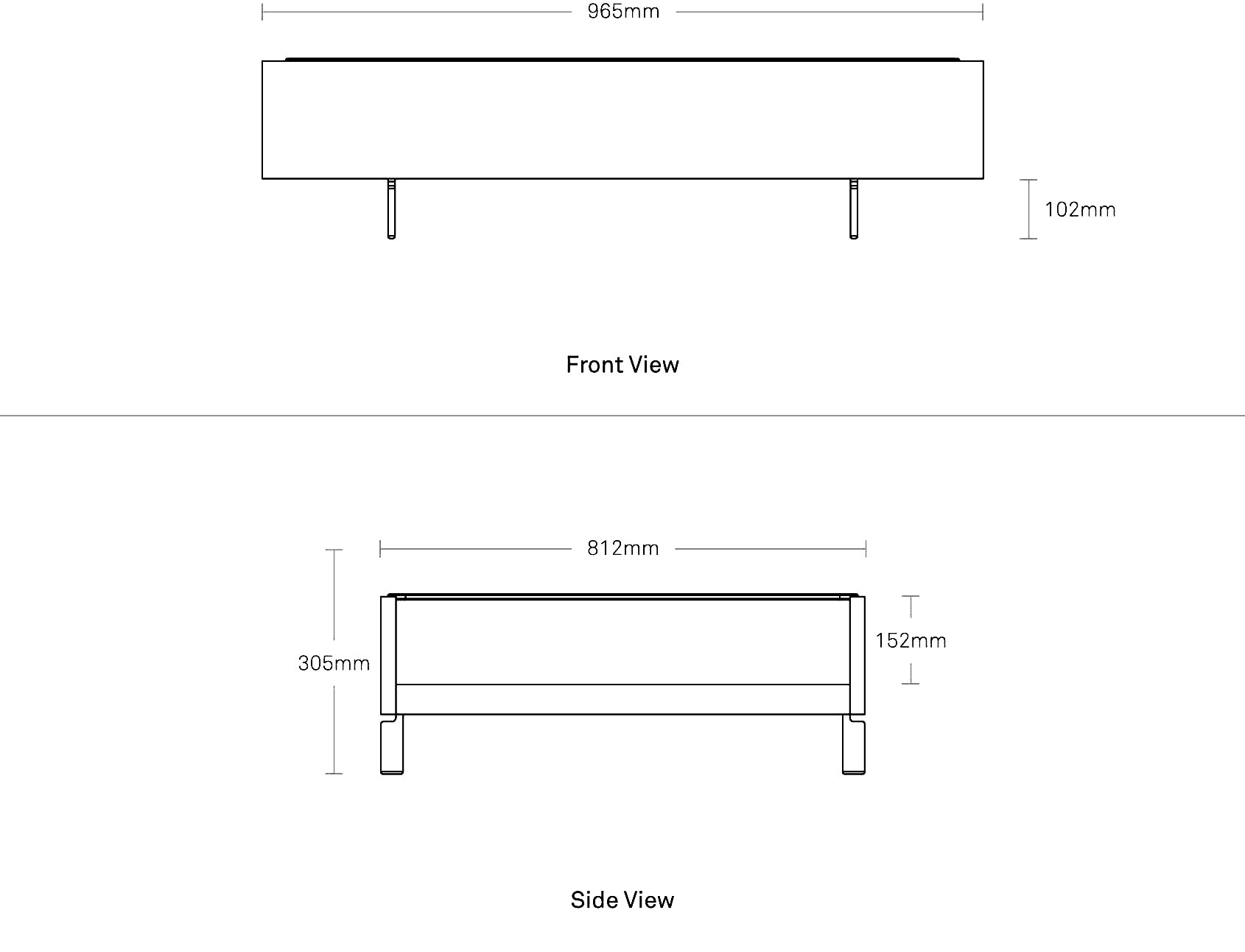 Cub Coffee Table Modern Coffee And Side Tables Blu Dot