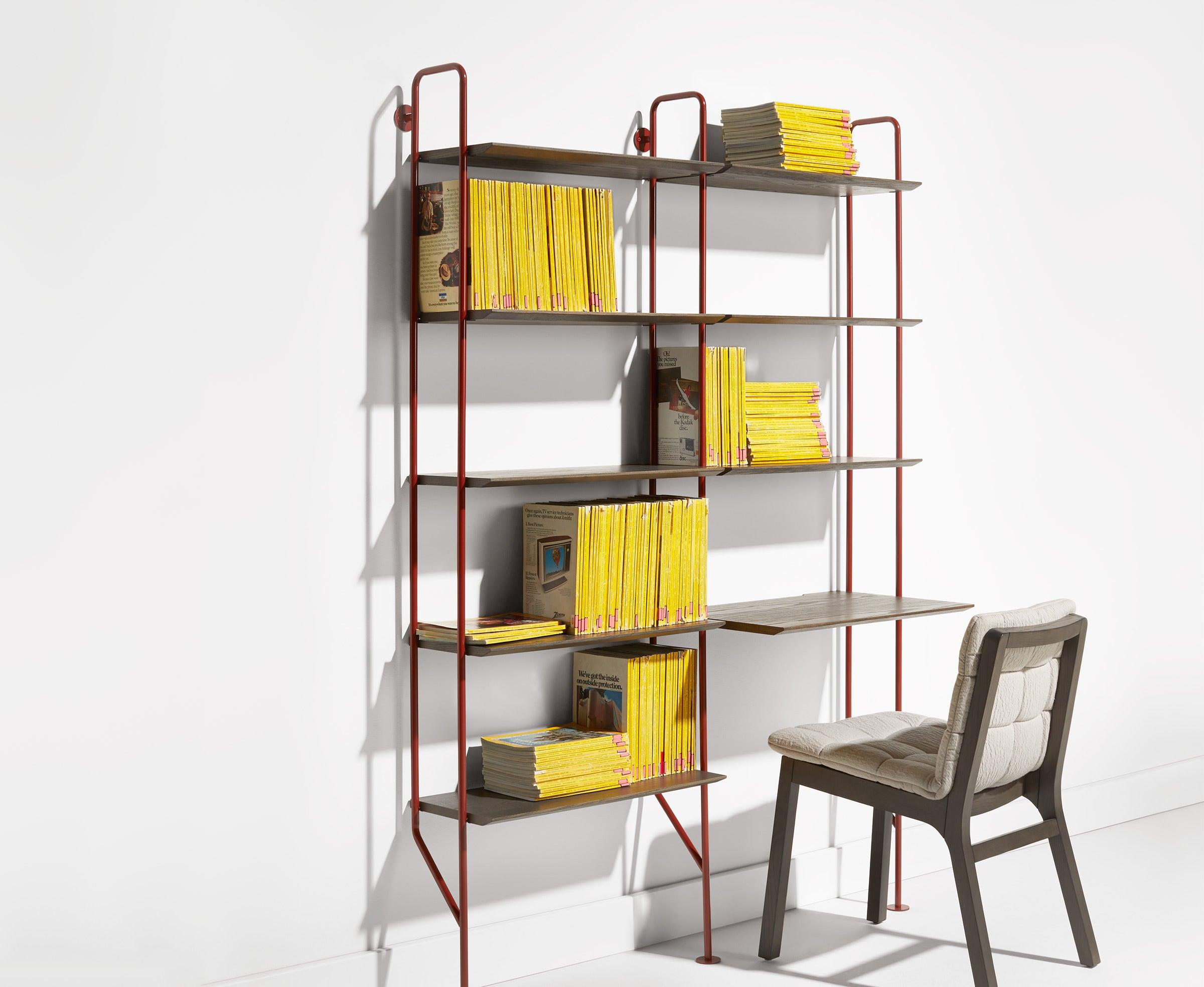 Hitch Bookcase and Desk
