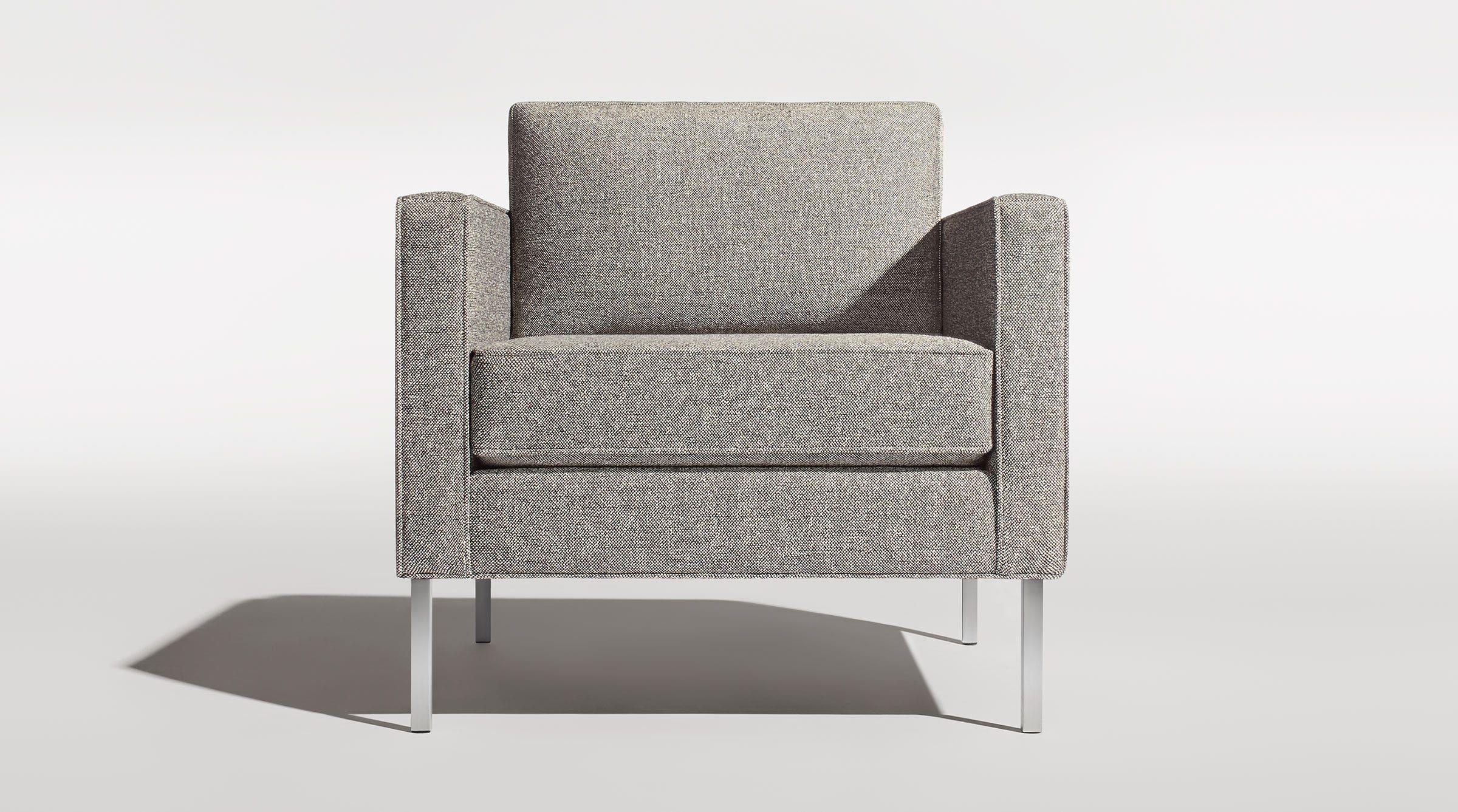 Paramount Lounge Chair Modern Chairs Amp Seating Blu Dot