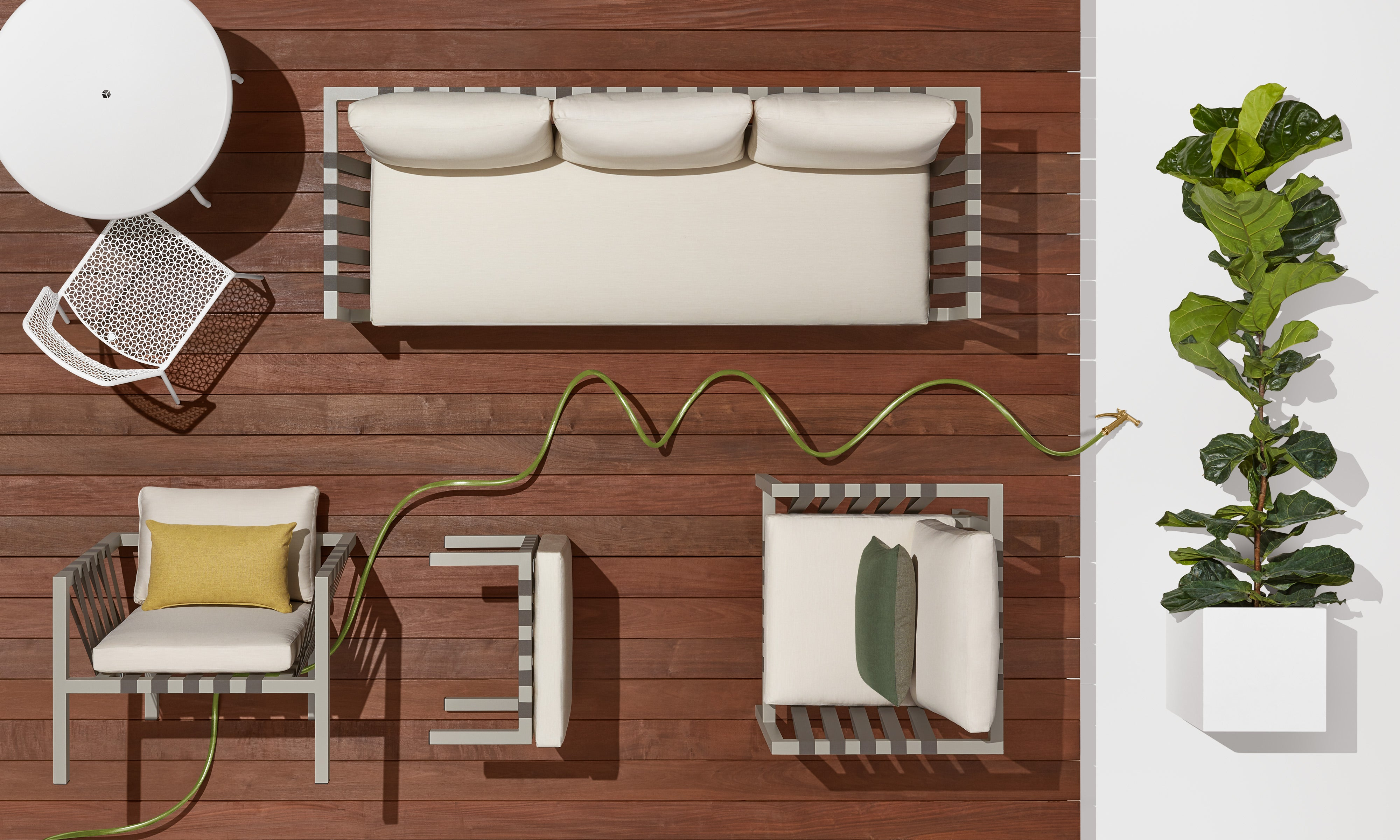 Jibe 3 Seat Outdoor Sofa