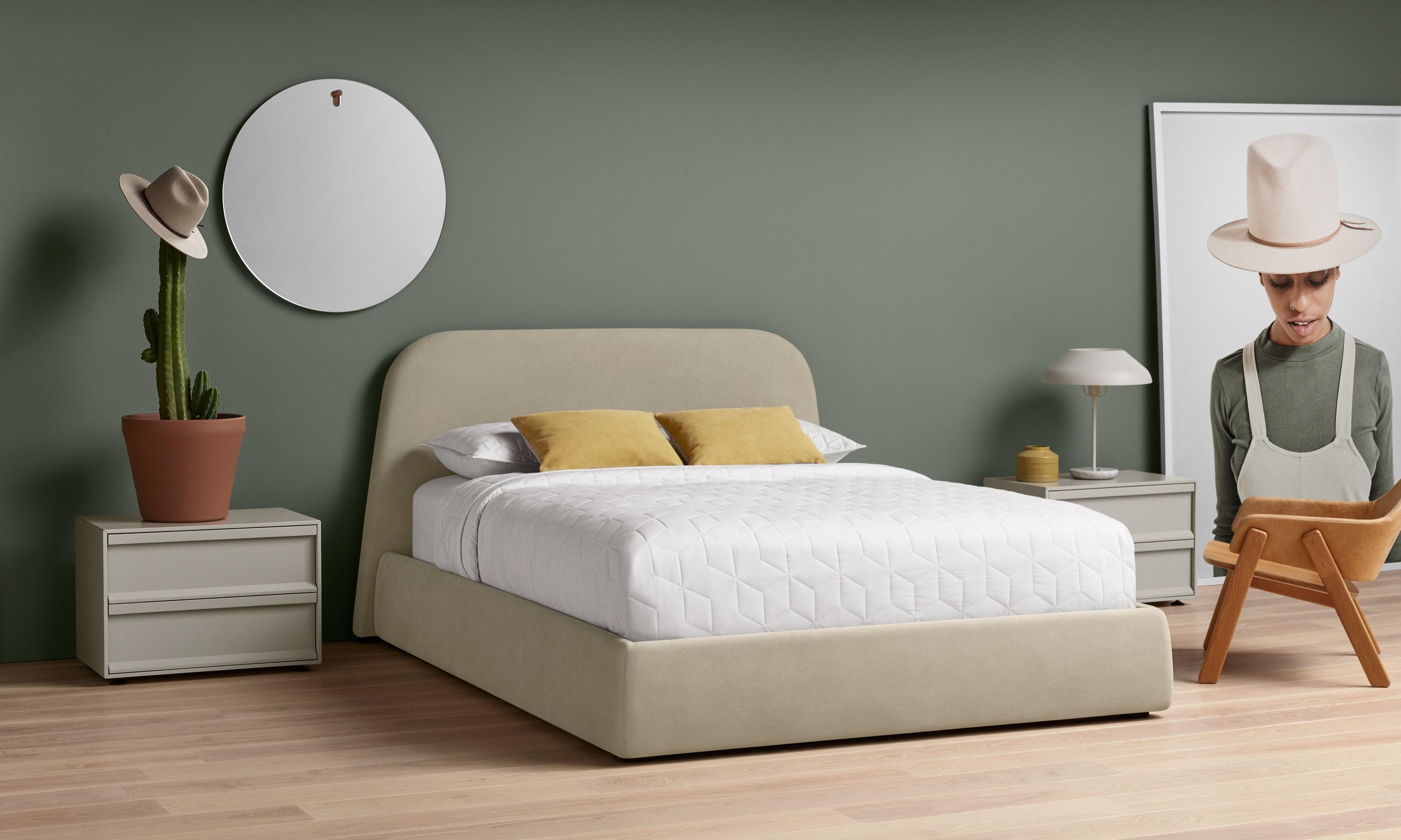 Lid Storage Bed